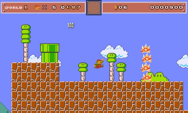 Mario Level Up Sound